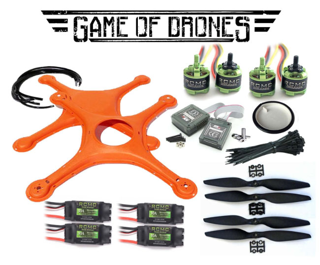 Flybrix Kits Include All You Need To Make Your Own Rebuildable Crash Friendly Drones Step By Guide Building Drone As Presented Verson
