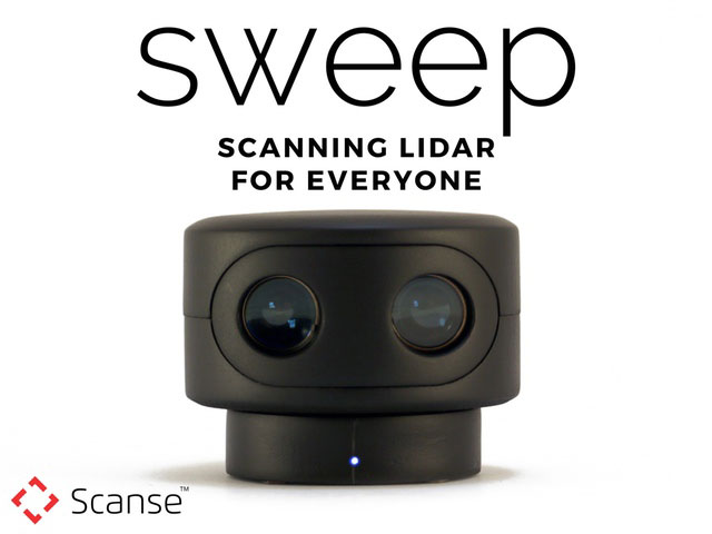 Sweep Scanning LiDAR Sensor for Drone & Robot Students ...