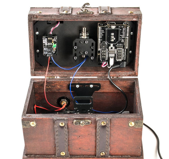 Robotgeek arduino rfid lock box kit educational gizmos