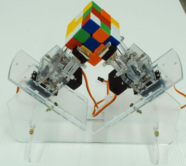 Rubik s cube solver robot with arduino educational gizmos