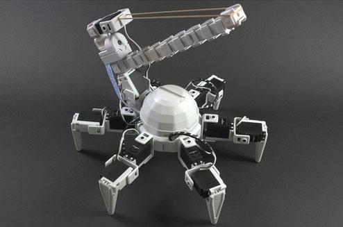 Elastic-Turret-Hexapod
