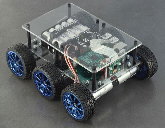 DiddyBorg-Raspberry-Pi-Robot