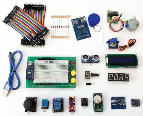 Arduino-Learning-Board